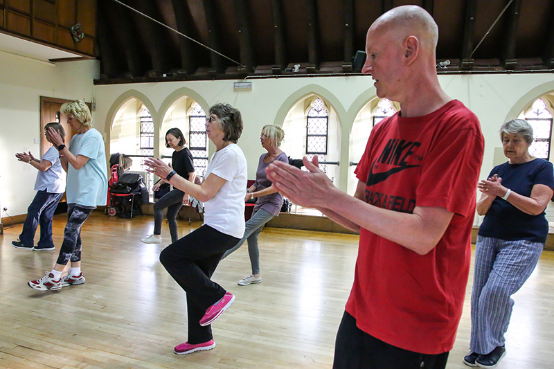 Low impact Aerobics at The Avenue Club, Kew