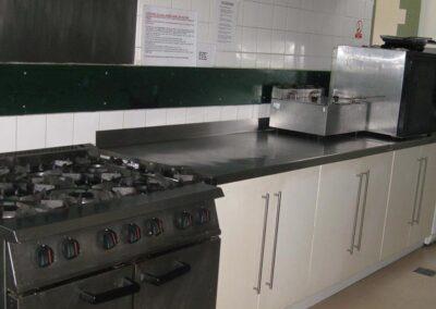 Kitchen facilities at The Avenue Halls, Kew