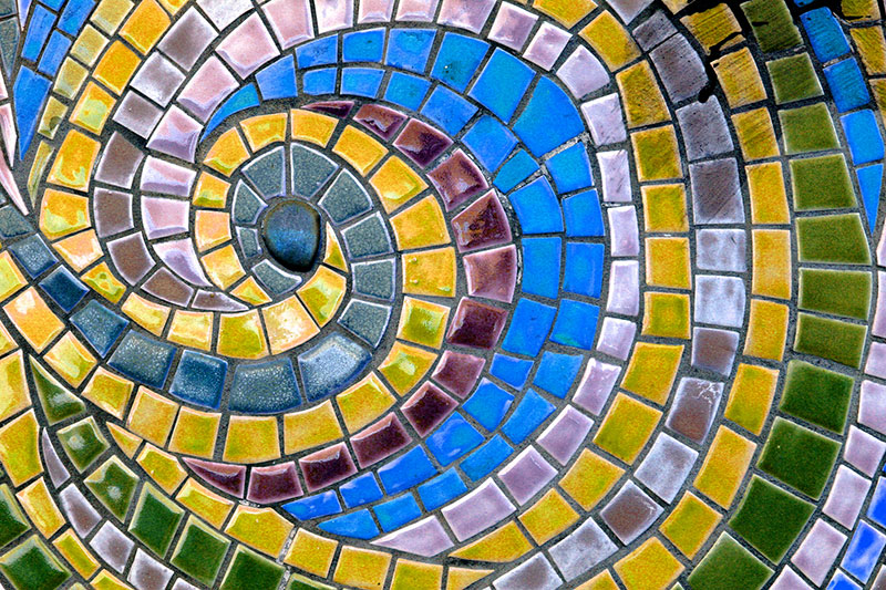 Mosaic at The Avenue Club, Kew