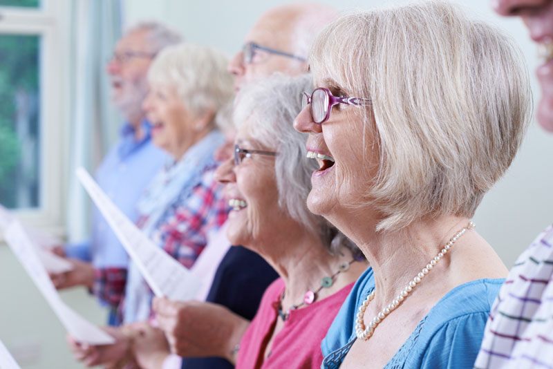Choir at The Avenue Club, Kew